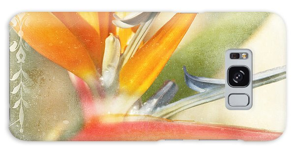 Bird Of Paradise - Strelitzea Reginae - Tropical Flowers Of Hawaii Galaxy Case by Sharon Mau