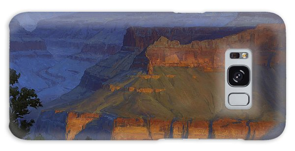 Grand Canyon Galaxy S8 Case - Blue Morning by Cody DeLong