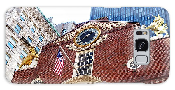 Boston Old State House Galaxy Case by Cheryl Del Toro