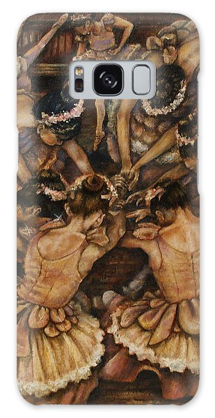 Bouquet Of Ballet    Galaxy Case