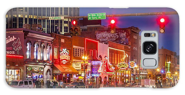 Broadway Street Nashville Galaxy Case