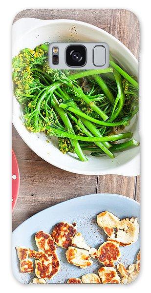 Broccoli Stems Galaxy Case