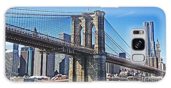 Brooklyn Bridge  Galaxy Case by Alison Tomich