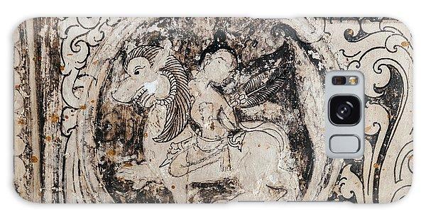Buddhist Mural Galaxy Case