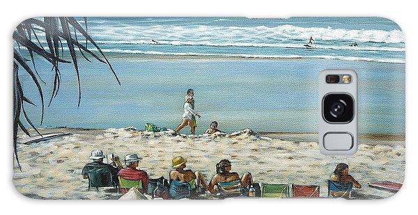 Burleigh Beach 220909 Galaxy Case