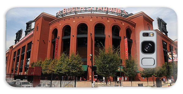 Busch Stadium - St. Louis Cardinals Galaxy Case by Frank Romeo