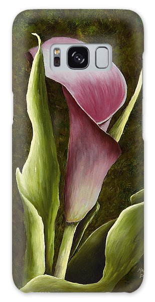 Calla Lily Galaxy Case