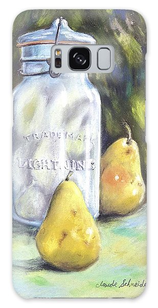 Canned Pears  Galaxy Case by Claude Schneider