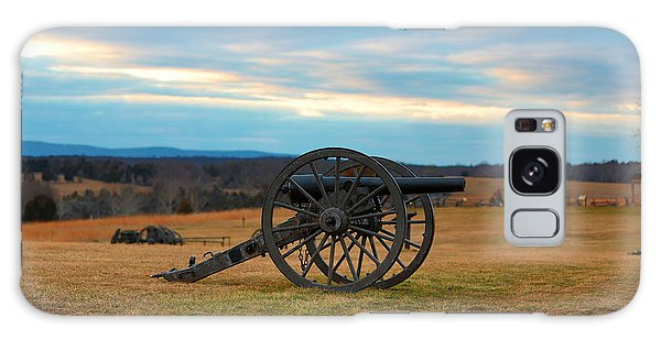 Cannons Of Manassas Battlefield Galaxy Case