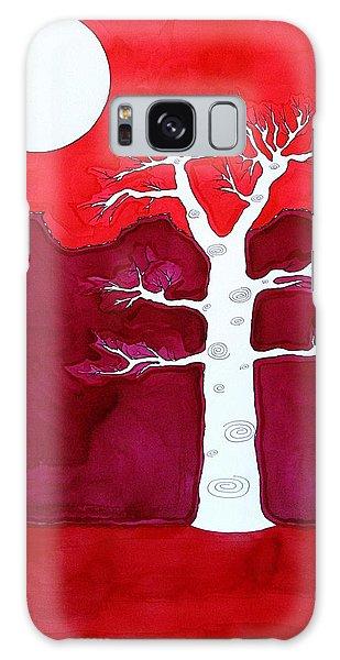 Canyon Tree Original Painting Galaxy Case