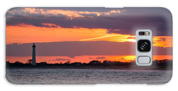 Cape May Galaxy Case - Cape May Lighthouse Sunset by Michael Ver Sprill