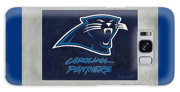 Panthers  Galaxy Case by Herb Strobino
