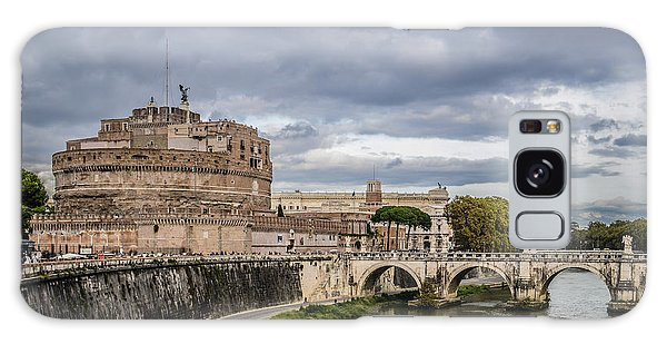 Castle St Angelo In Rome Italy Galaxy Case