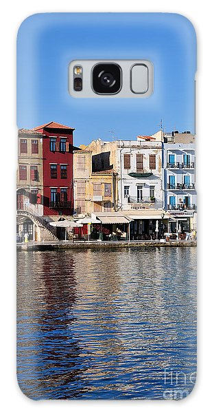 Chania City Galaxy Case