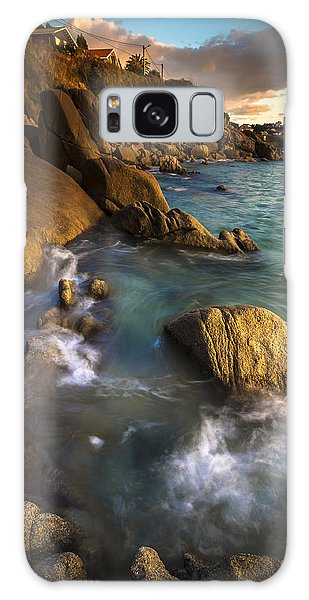 Chanteiro Beach Galicia Spain Galaxy Case by Pablo Avanzini