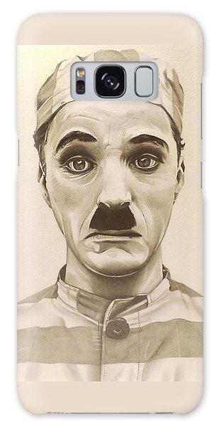 Vintage Charlie Chaplin Galaxy Case