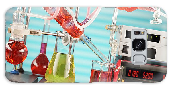 Synthesis Galaxy Case - Chemistry Experiment In Lab by Wladimir Bulgar