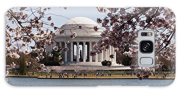 Cherry Blossom Trees In The Tidal Basin Galaxy Case