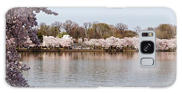 Martin Luther Galaxy Case - Cherry Blossom Trees Near Martin Luther by Panoramic Images