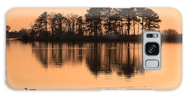 Chesapeake Sunset Galaxy Case