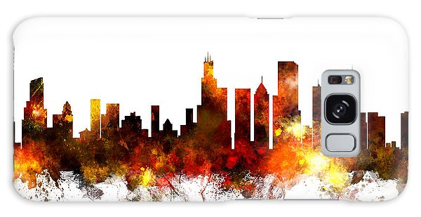 Chicago Illinois Skyline Galaxy Case