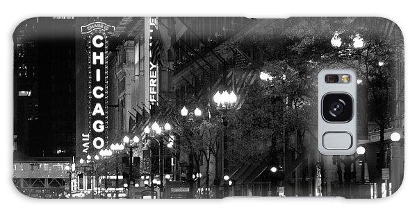 Chicago Theatre At Night Galaxy Case