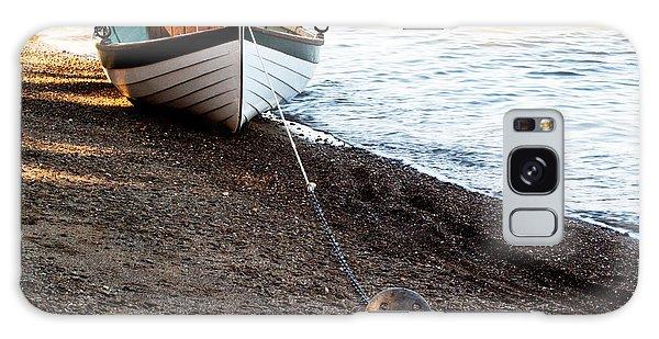 China Beach Rowboat Galaxy Case