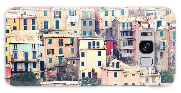 Cinque Terre Italy Galaxy Case