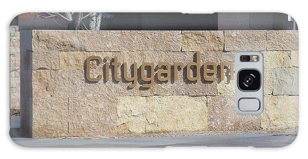 City Garden Galaxy Case by Kelly Awad