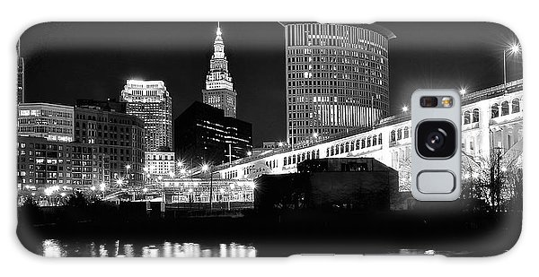 Cleveland Skyline Galaxy Case