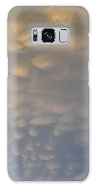 Clouds Above  Galaxy Case by Lyle Crump