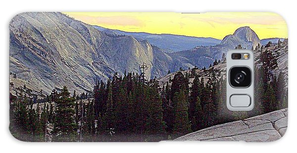 Cloud's Rest And Half Dome Galaxy Case
