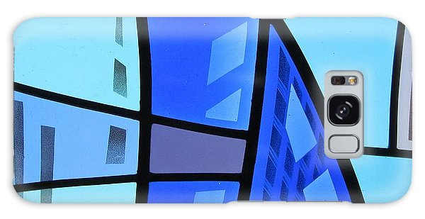 Coal Harbour Triptych Part 1 Galaxy Case by Gilroy Stained Glass