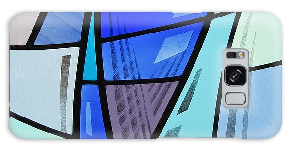 Coal Harbour Triptych Part 2 Galaxy Case by Gilroy Stained Glass