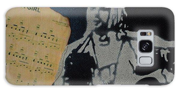 Cobain Spray Art Galaxy Case