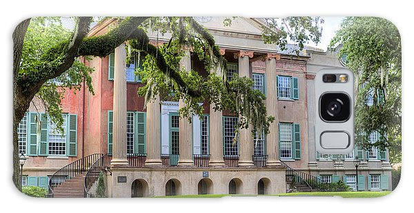 College Of Charleston Randolph Hall Galaxy Case