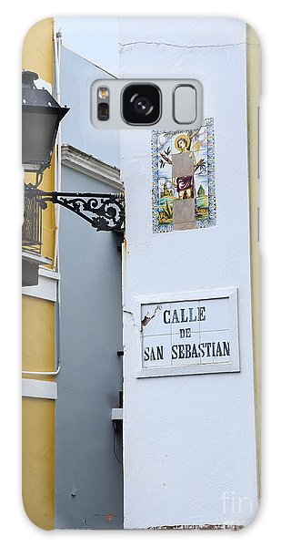 Colorful Old San Juan Galaxy Case