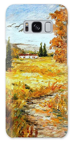 Colors Of Autumn 2 Galaxy Case