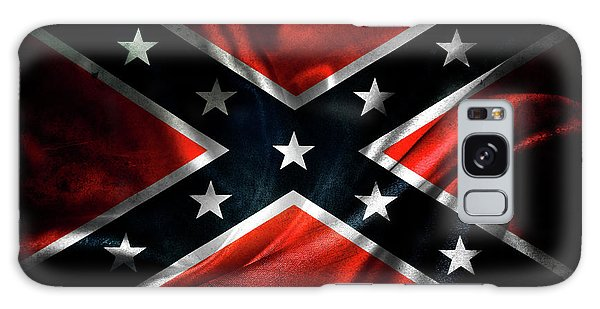 Weathered Galaxy Case - Confederate Flag 1 by Les Cunliffe