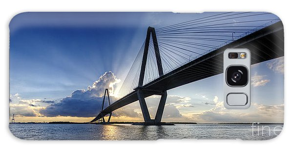 Cooper River Bridge Charleston Sc Galaxy Case