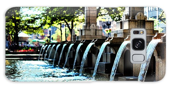 Copley Square Fountain In Boston Galaxy Case