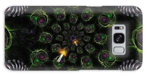 Galaxy Case featuring the digital art Cosmic Embryos by Shawn Dall
