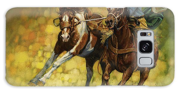 Horse Galaxy Case - Rodeo Pickup by Don  Langeneckert
