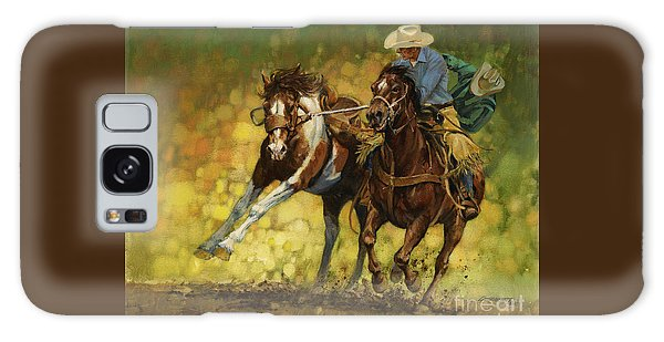 Horse Galaxy Case - Rodeo Pickup by Don  Langeneckert
