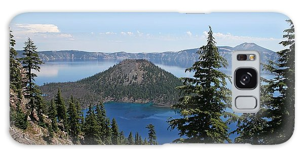 Crater Lake Oregon Galaxy Case by Tom Janca