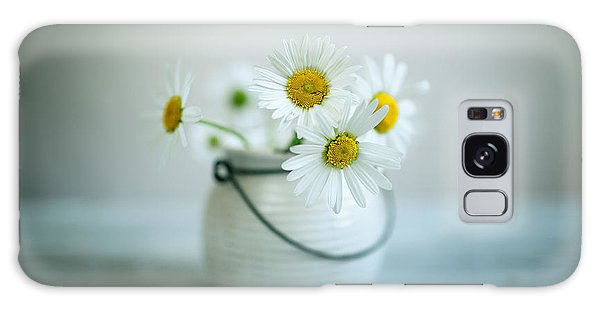 Daisy Galaxy S8 Case - Daisy Flowers by Nailia Schwarz