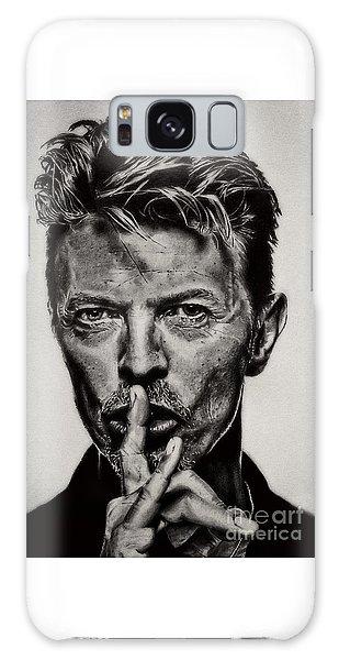 David Bowie - Pencil Abstract Galaxy Case
