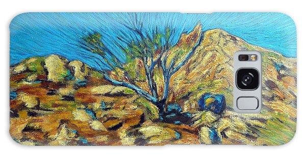 Desert Tree In Blazing Sun Galaxy Case by Gerhardt Isringhaus