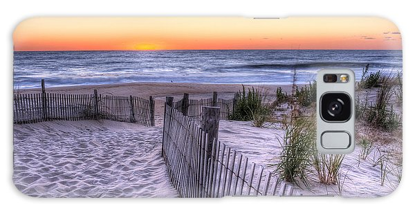 Dewey Beach Sunrise Galaxy Case