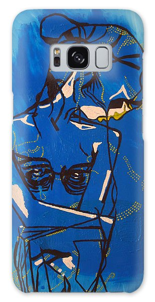 Dinka Painted Lady - South Sudan Galaxy Case